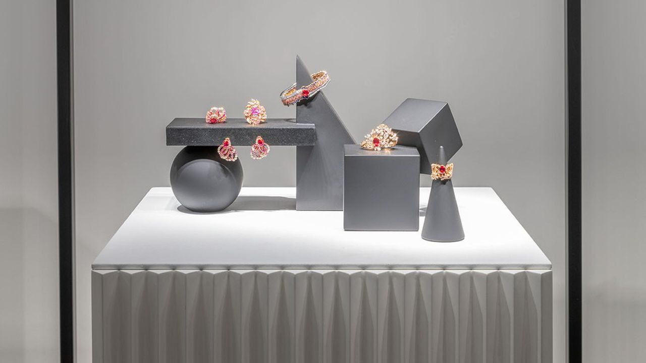Lors de la présentation Dior Joaillerie organisée en juillet dernier à Shanghai.