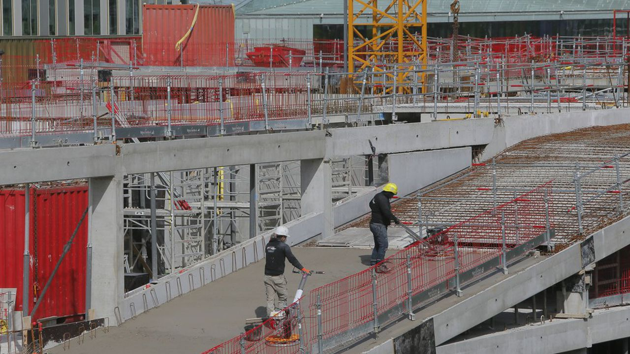 Dans la construction, l'emploi dépasse désormais son niveau d'avant-crise