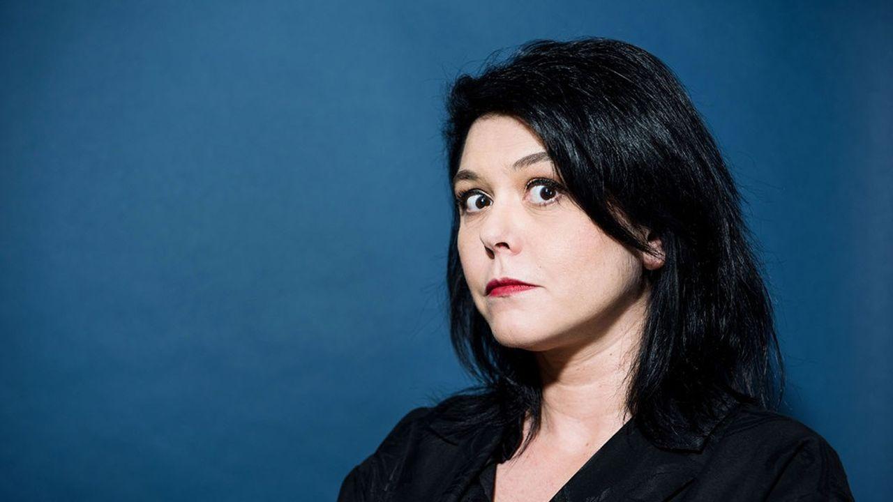 Chloé Delaume, 47 ans, distinguée parmi dix candidats.