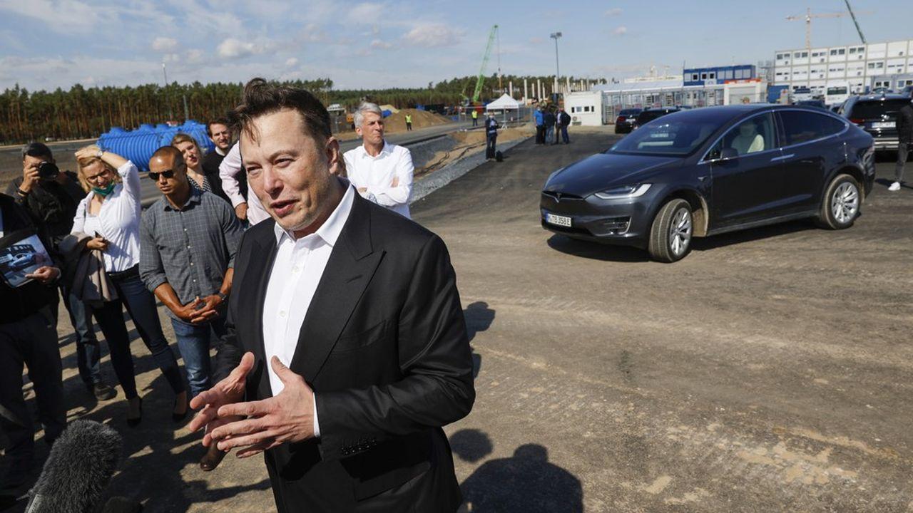 Après sa visite sur le chantier de l'usine Tesla à Grünheide en septembre, Elon Musk a atterri de nouveau à Berlin jeudi pour faire passer personnellement des entretiens d'embauche aux futurs ingénieurs