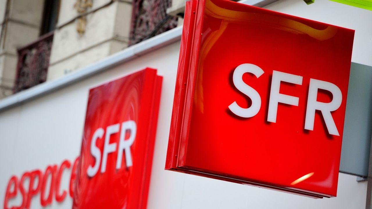 Au deuxième trimestre, SFR pouvait proposer la fibre optique à 17,4millions de Français.