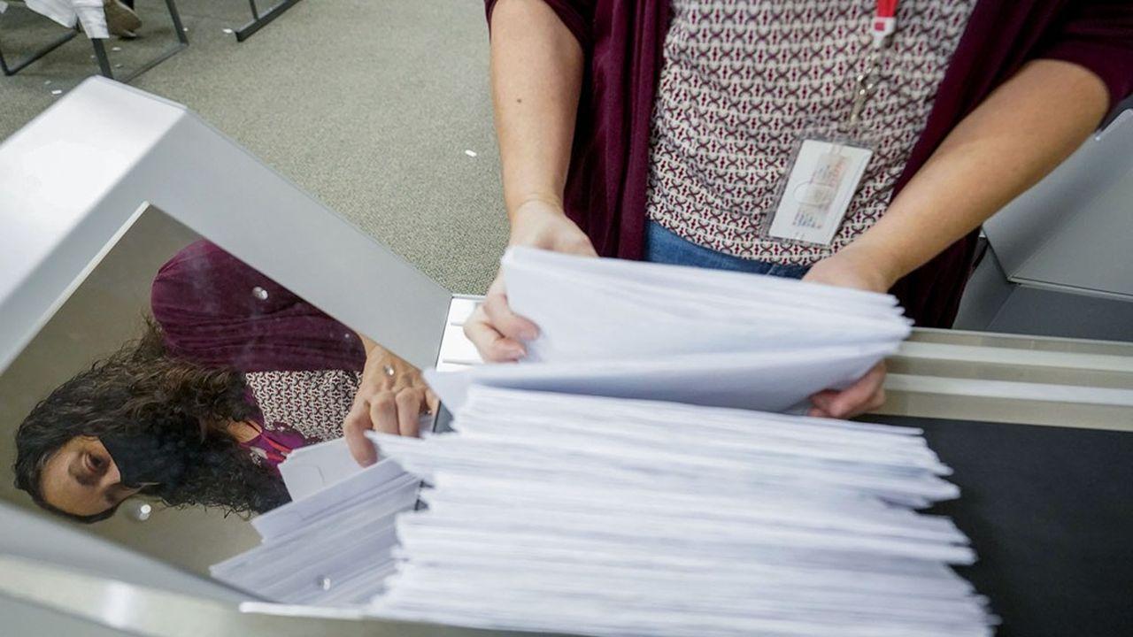 En Pennsylvanie le recomptage est automatique lorsque le candidat gagnant l'emporte avec une marge de moins de 0,5% des voix.