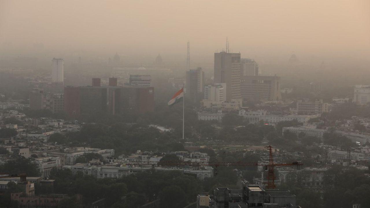 New Delhi reste l'une des capitales les plus polluées au monde.