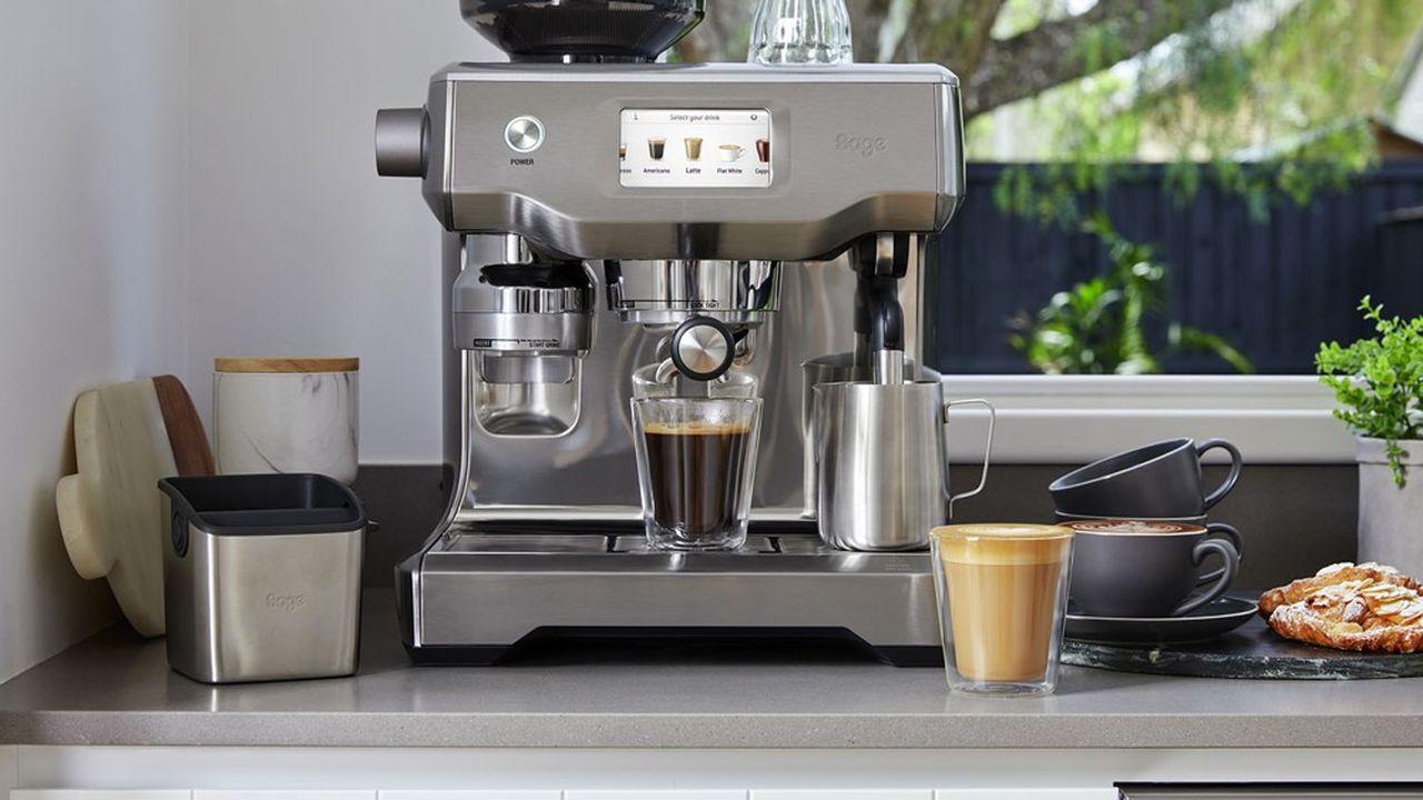 Les équipements à café de type professionnel ont tiré le marché français du petit électroménager l'an dernier.