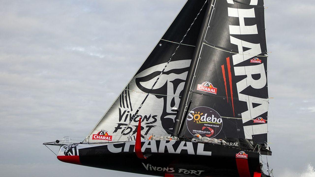 Favori du Vendée Globe 2020, Charal n'est revenu que récemment dans le sponsoring de la voile.