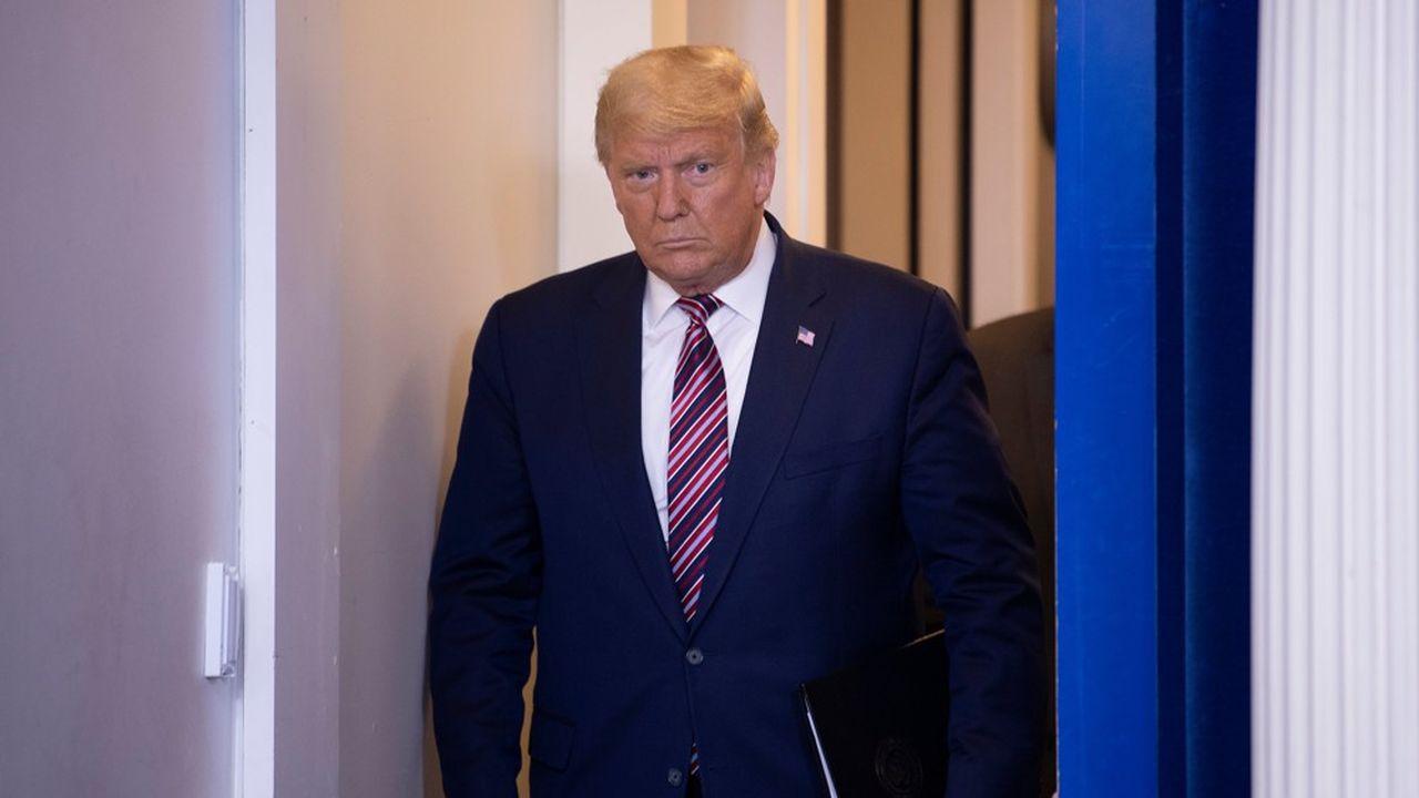Le président américain Donald Trump refuse de reconnaître sa défaite. Il a fait savoir samedi après-midi (heure locale) qu'il refusait de parler à la presse.