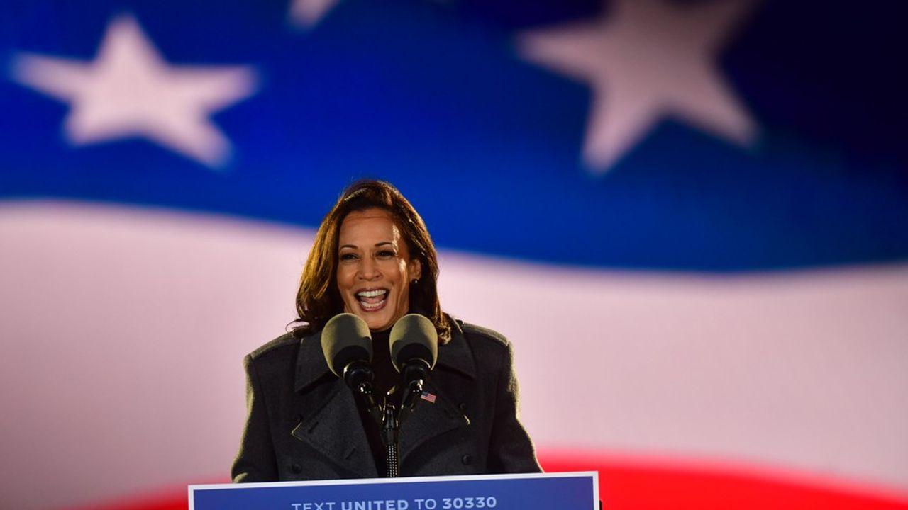 Kamala Harris a mené campagne sans relâche pour Joe Biden ces derniers mois.