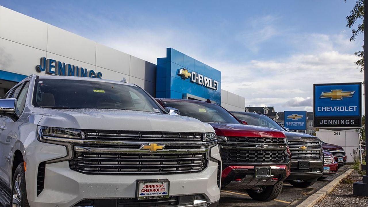 Grâce ses ventes de pick-up et de SUV, General Motors à fait état d'un bénéfice net de 4milliards de dollars entre juillet et septembre, soit une hausse de 72% par rapport à la même période de l'an dernier.