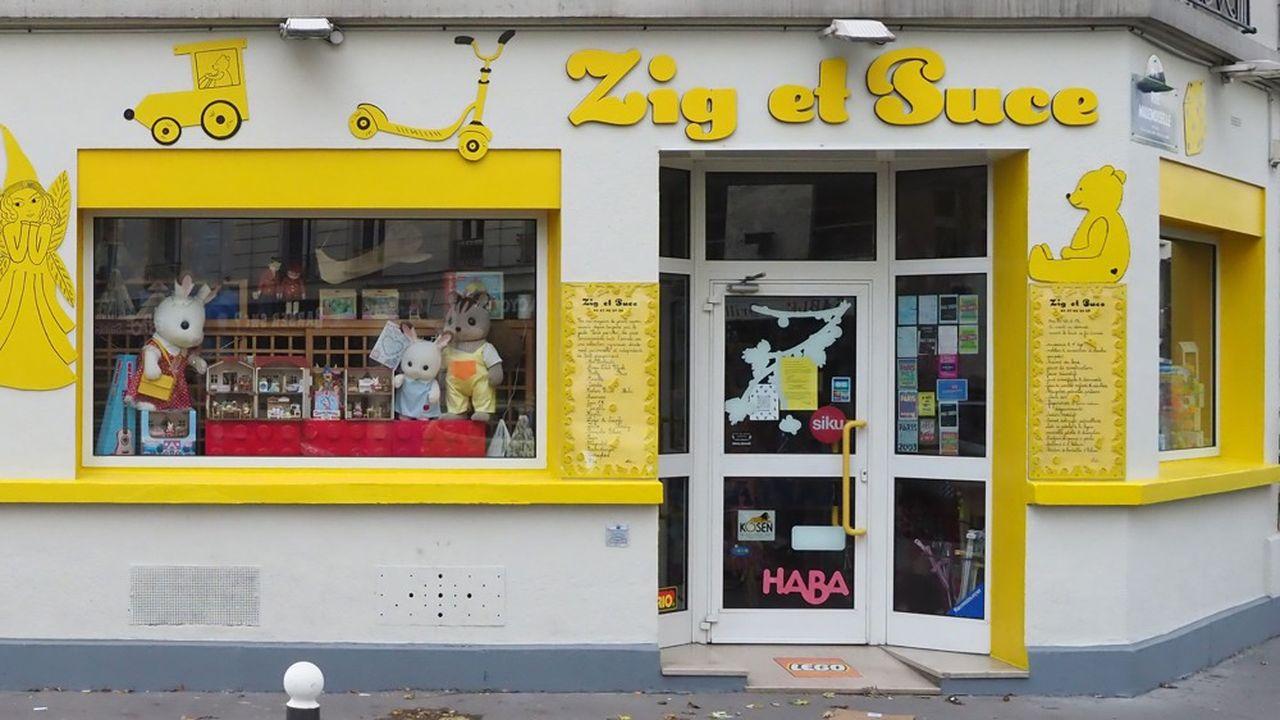 Jugés «non essentiels», les magasins de jouets ont dû baisser le rideau le temps du confinement imposé en France jusqu'au 1erdécembre.