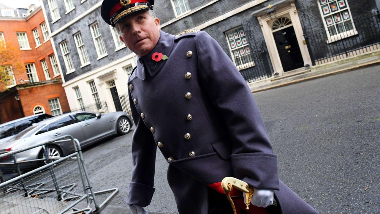 Le général Sir Nick Carter, chef d'état-major de la Défense,