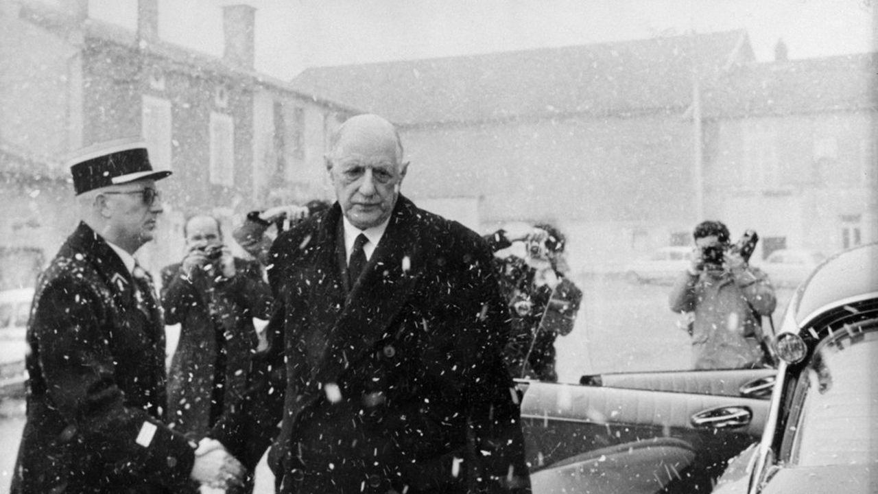 Le général Charles de Gaulle, en 1970.
