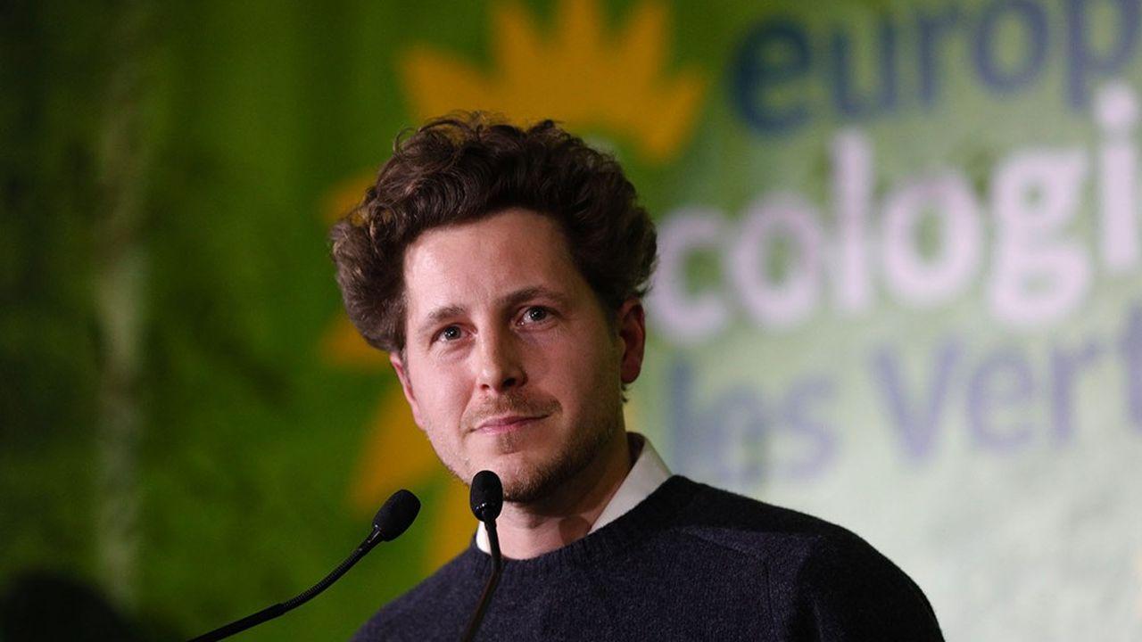 Le secrétaire national d'Europe Ecologie-Les Verts, Julien Bayou.