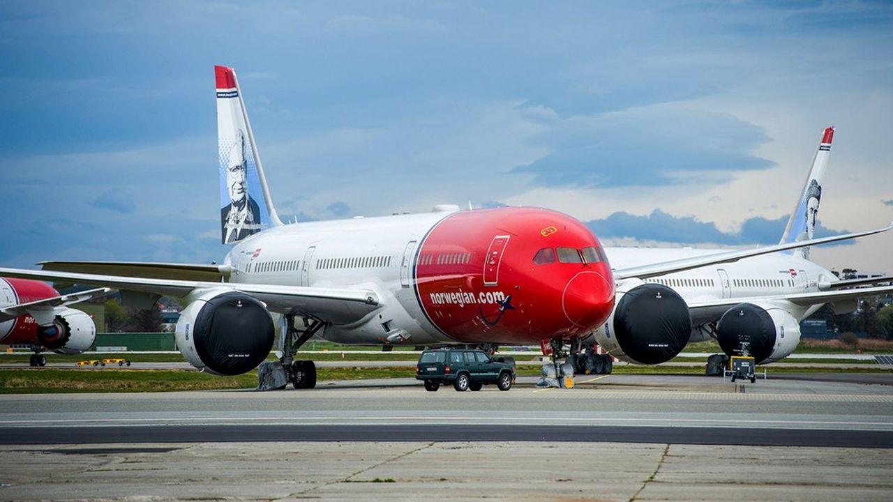 Les appareils de Norwegian risquent de rester cloués au sol.