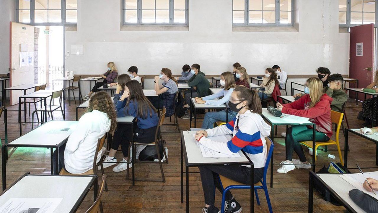 Dans un premier temps, les tests ne concerneront pas les élèves.