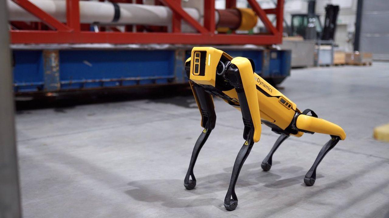 Hyundai a refusé de commenter «une spéculation de marché», indiquant seulement qu'elle était toujours à l'affût de «nouveaux partenariats» (photo: le chien «Spot» de Robot Dynamics).