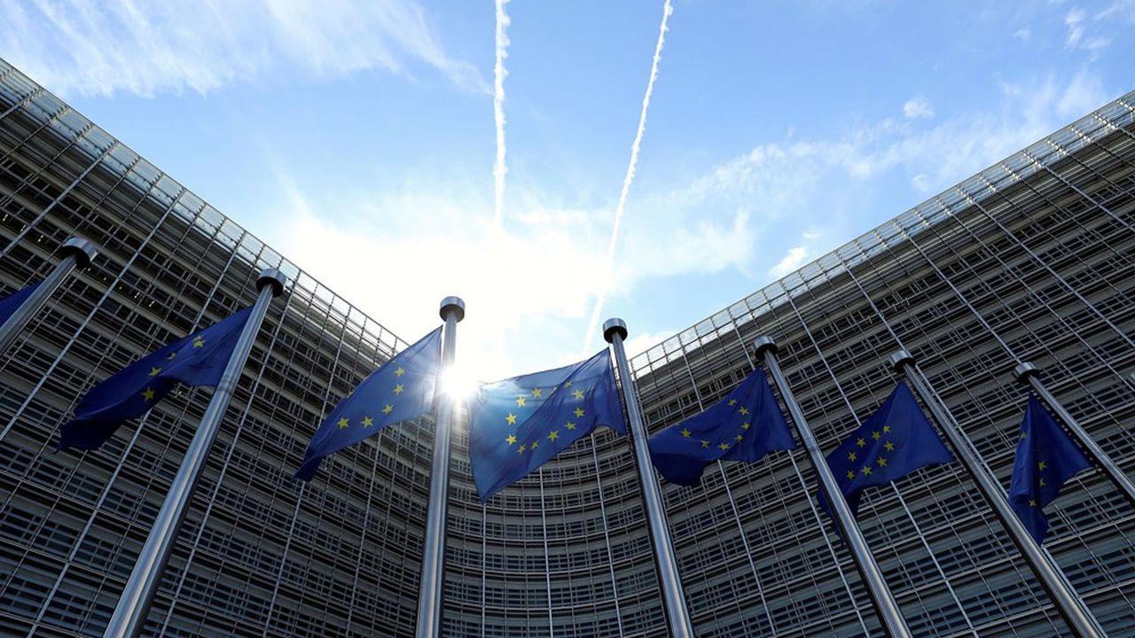 Le siège de la Commission européenne à Bruxelles.