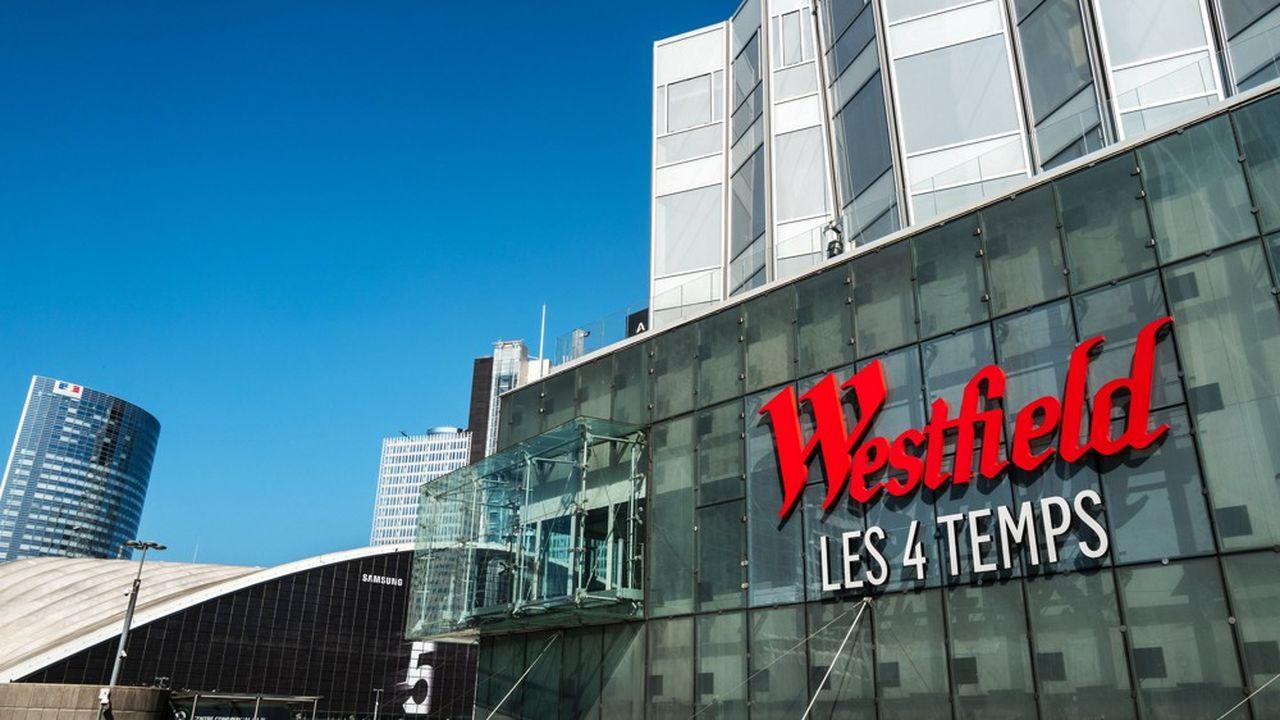 Unibail possède pour 60milliards d'euros d'actifs. Ici le centre commercial Westfield Les4Temps à la Défense.