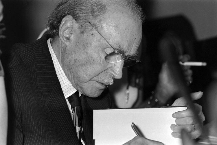 Maurice Genevoix en 1971.