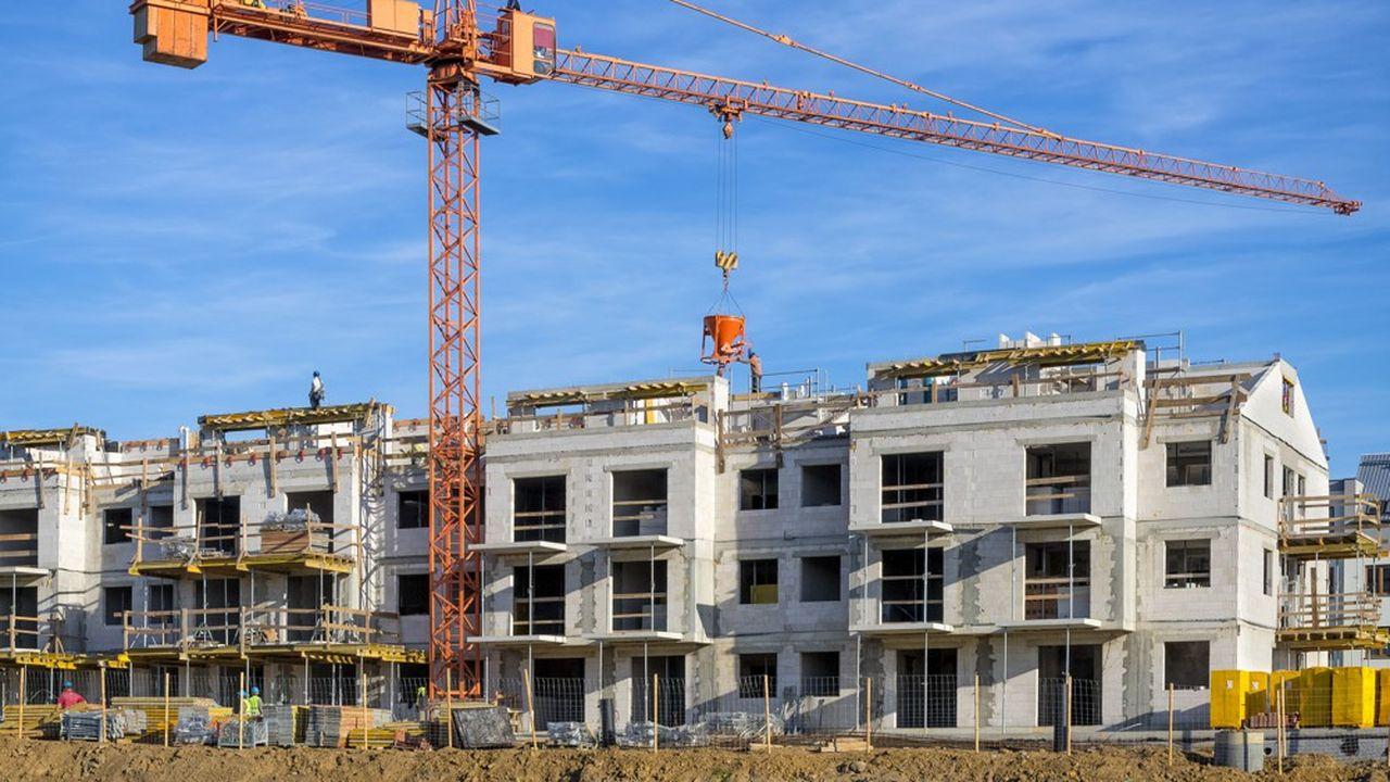 Les dispositifs Pinel et PTZ soutiennent la construction.