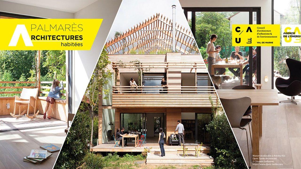 Baptisé «Architectures habitées», ce palmarès est ouvert aux architectes et maîtres d'ouvrage