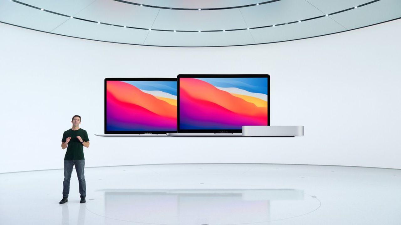 Dans une vidéo filmée depuis son siège de Cupertino, Tim Cook et ses équipes ont présenté trois nouveaux modèles de Mac équipés de M1, sa puce conçue en interne.