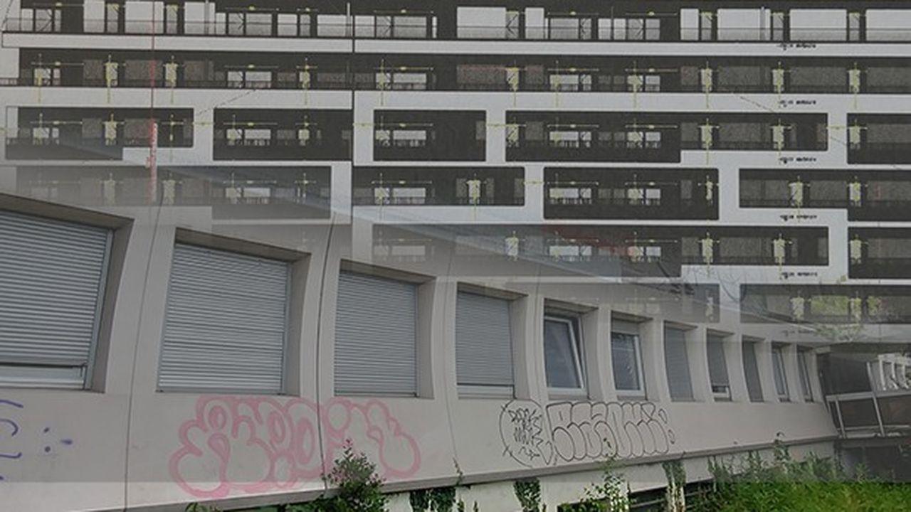 Bouygues Immobilier ne pourra pas reprendre le chantier de l'avenue Loverchy sans l'avoir complètement revu