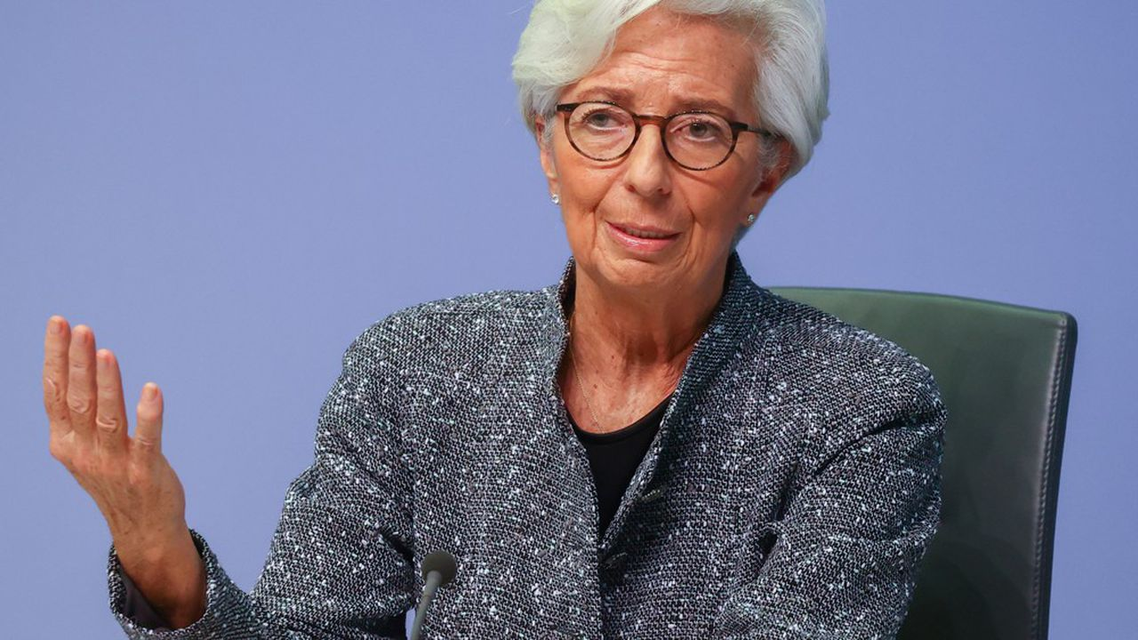 Christine Lagarde, présidente de la Banque centrale européenne
