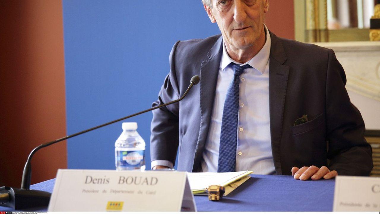 Denis Bouad a été élu sénateur fin septembre.