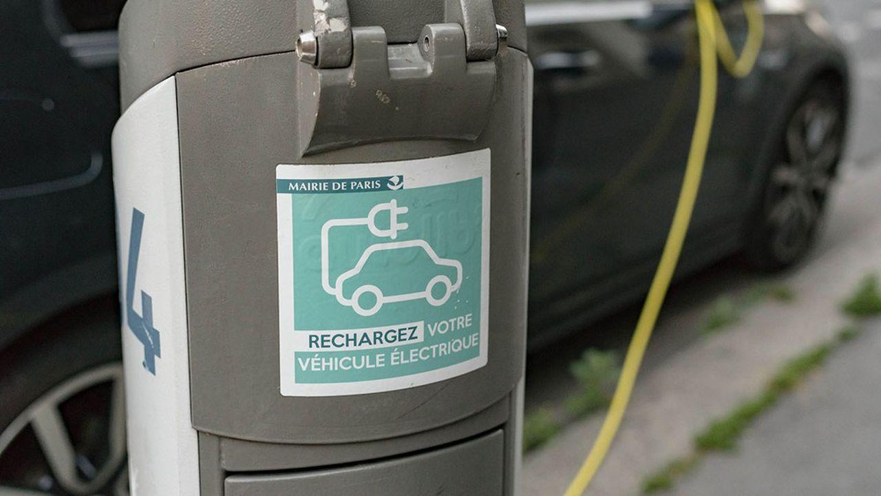 Il y a actuellement 1.489 points de charge en service dans les rues de la capitale.