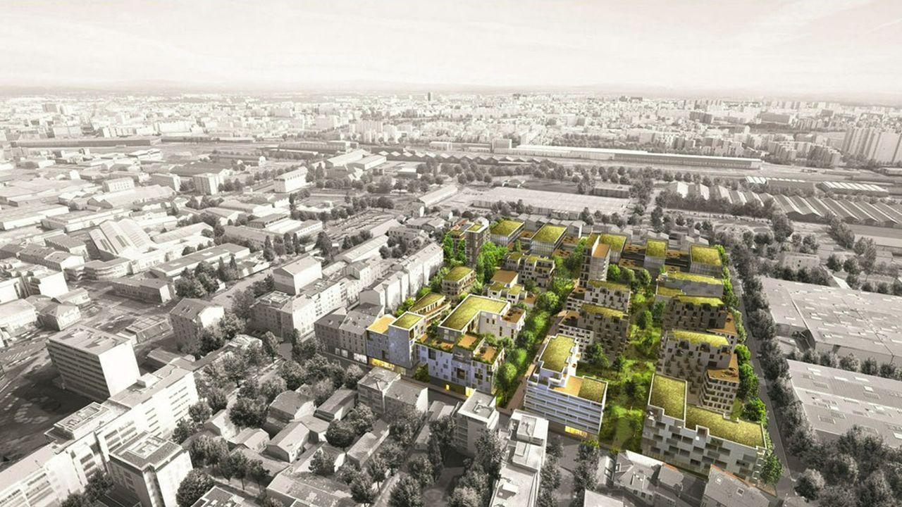 Baptisée Canopéa, cette opération est réalisée sous la forme d'un projet urbain partenarial en concertation avec la Métropole