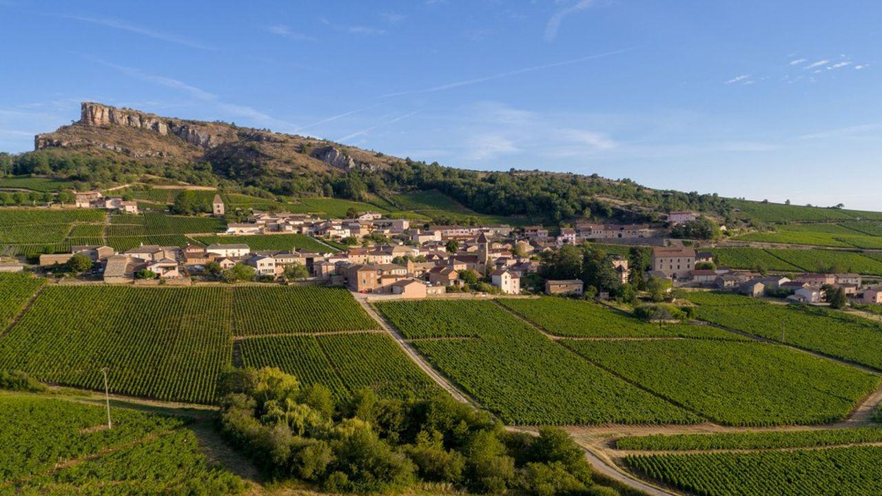 Le Clos de Solutré sur la commune de Solutré-Pouilly.