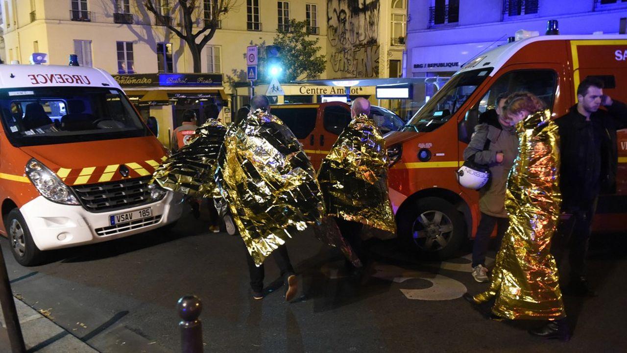 Plus de 2.500 victimes ont déjà été prises en charge depuis les attentats du 13novembre 2015.