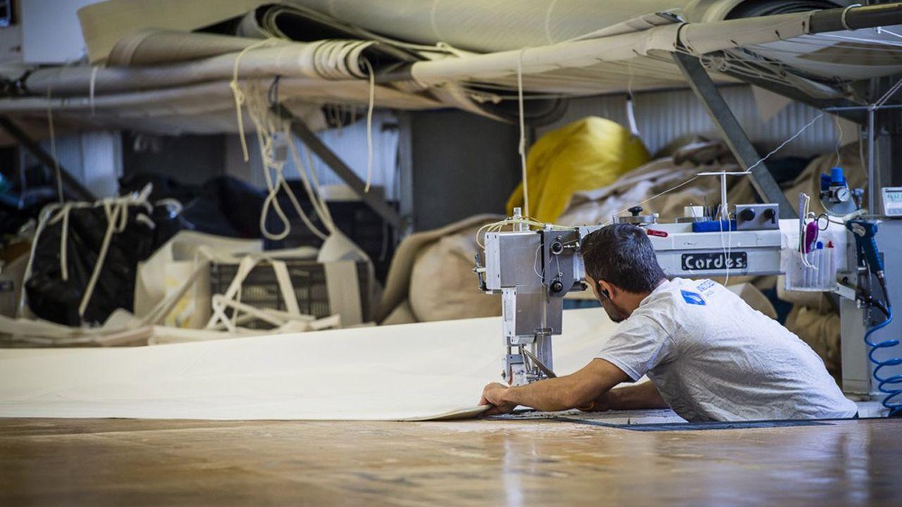 Incidence Sails est l'une des deux seules voileries au monde à produire ses propres membranes filamentaires.