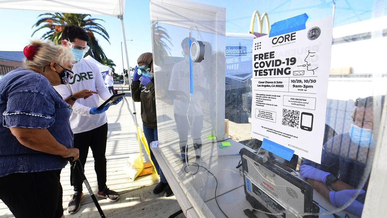 La pandémie se répand de manière généralisée dans le pays, malgré les 1,4million de tests par jour.