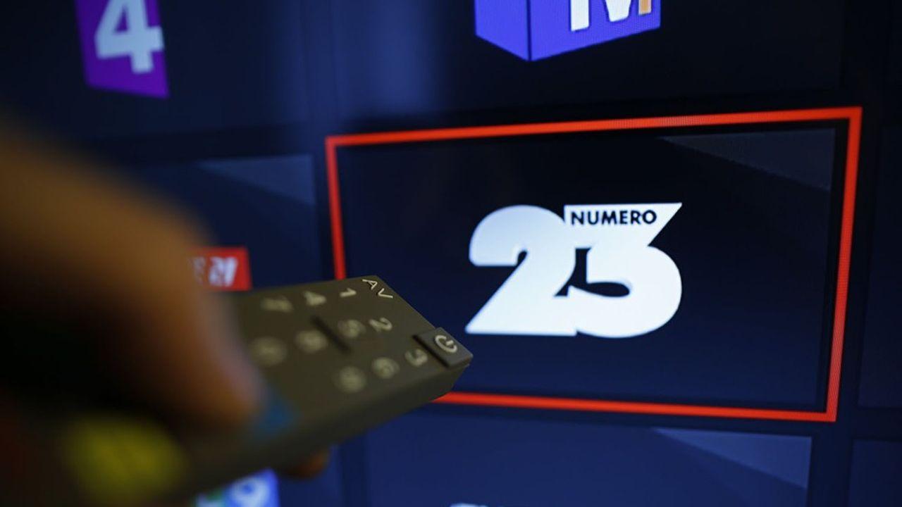 La chaîne Numéro 23 a été rachetée par la maison mère de BFM, qui lui a donné un nouveau nom: RMC Story.