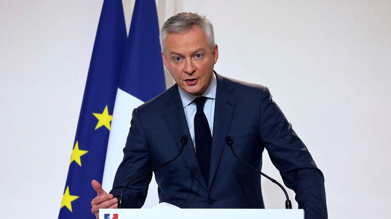 Bruno Le Maire a évoqué un «motif d'espoir» pour les commerces.