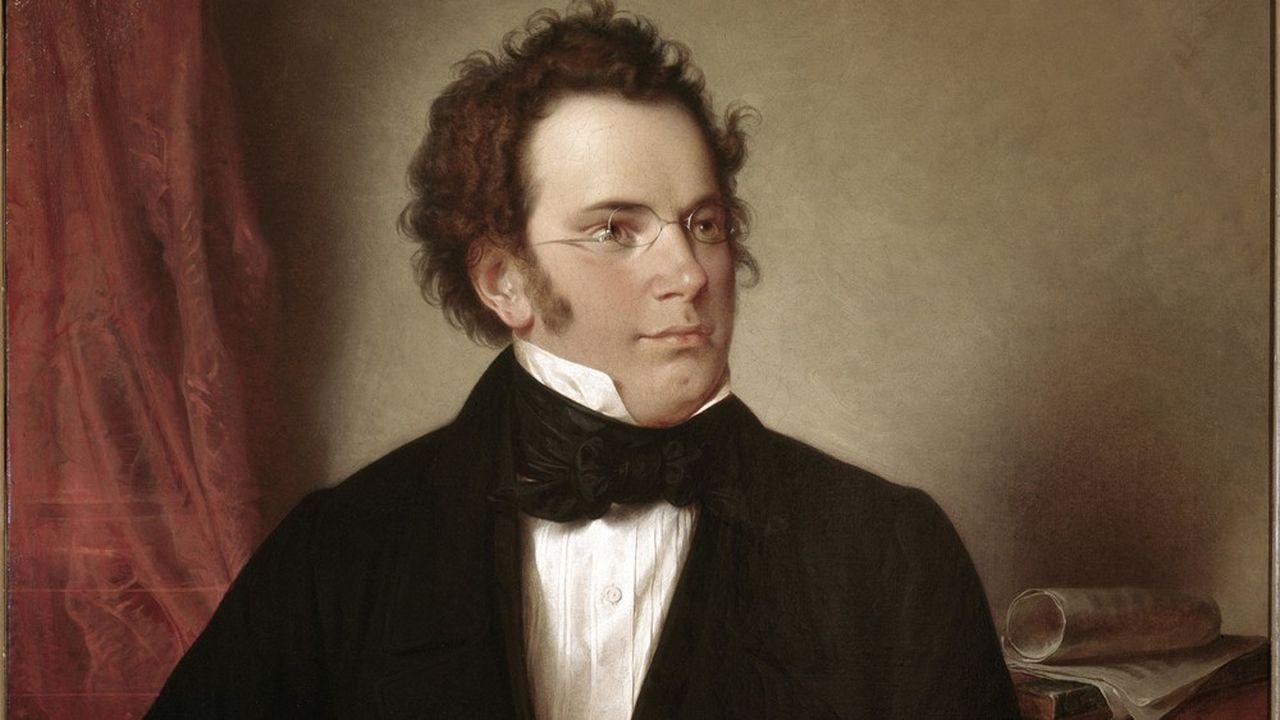 Portrait de Franz Peter Schubert (1797-1828), par Wilhelm August Rieder.