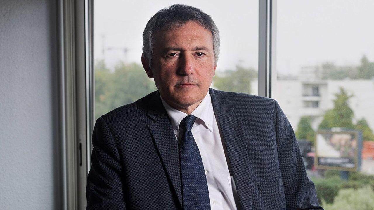 Olivier Torrès, président de l'Observatoire Amarok, alerte depuis dix ans sur la santé des patrons.