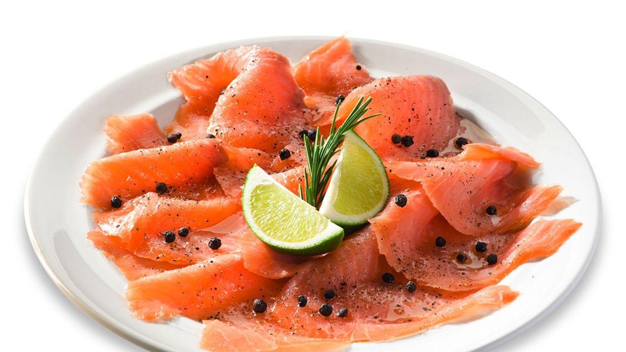 Les Français sont les plus gros consommateurs de saumon fumé en Europe.