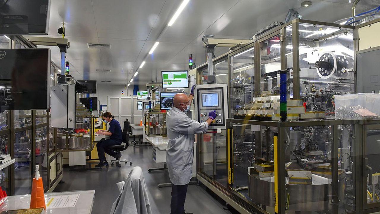 Les commandes des PME du secteur mécanique ont baissé de 30% au deuxième trimestre 2020, avant de remonter la vague (Photo by Christof STACHE/AFP)