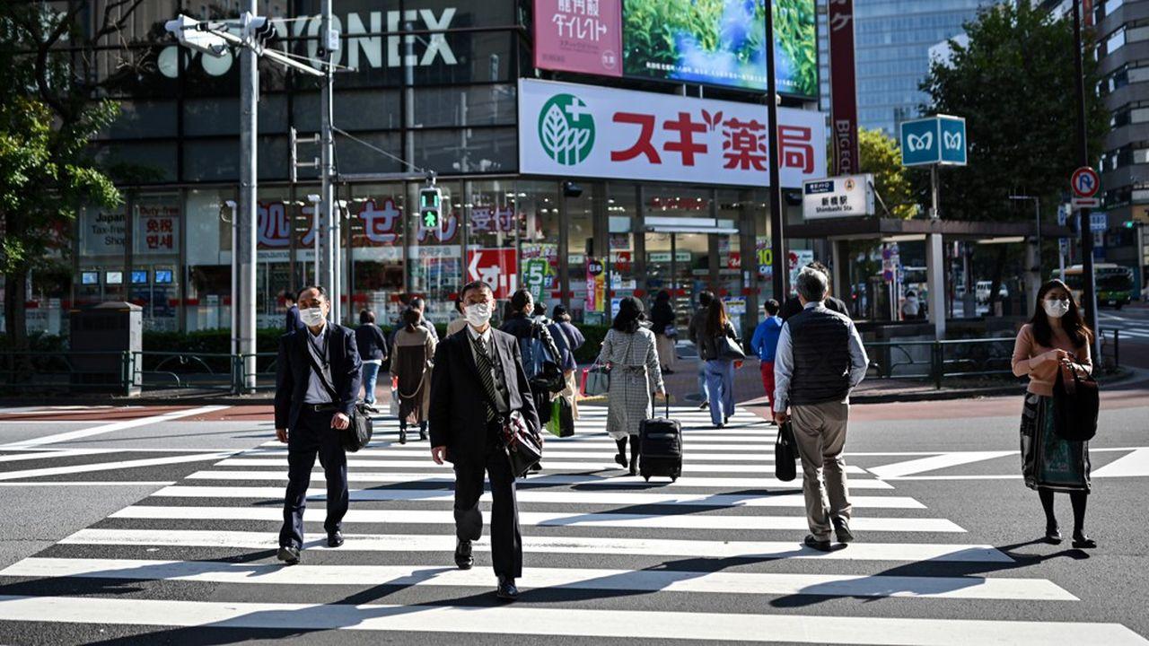 Le PIB japonais avait, au deuxième trimestre, connu l'un des pires plongeons de son histoire moderne, à -8%.