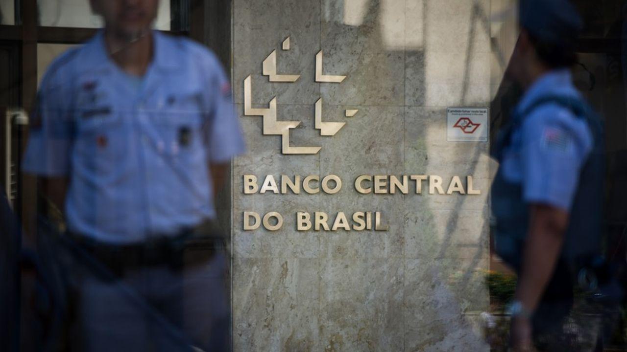 La banque centrale brésilienne à São Paulo