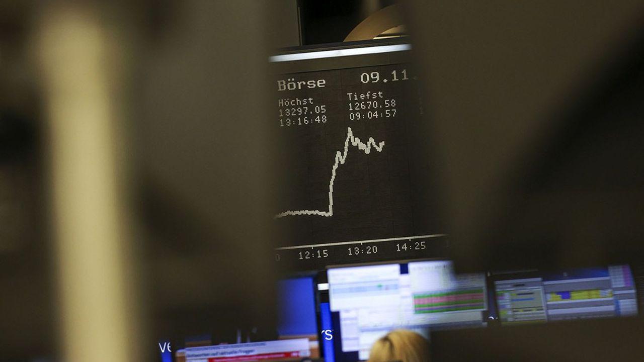 Les Bourses en Europe étaient toutes en hausse ce lundi à la mi-journée. Wall Street devrait faire de même.