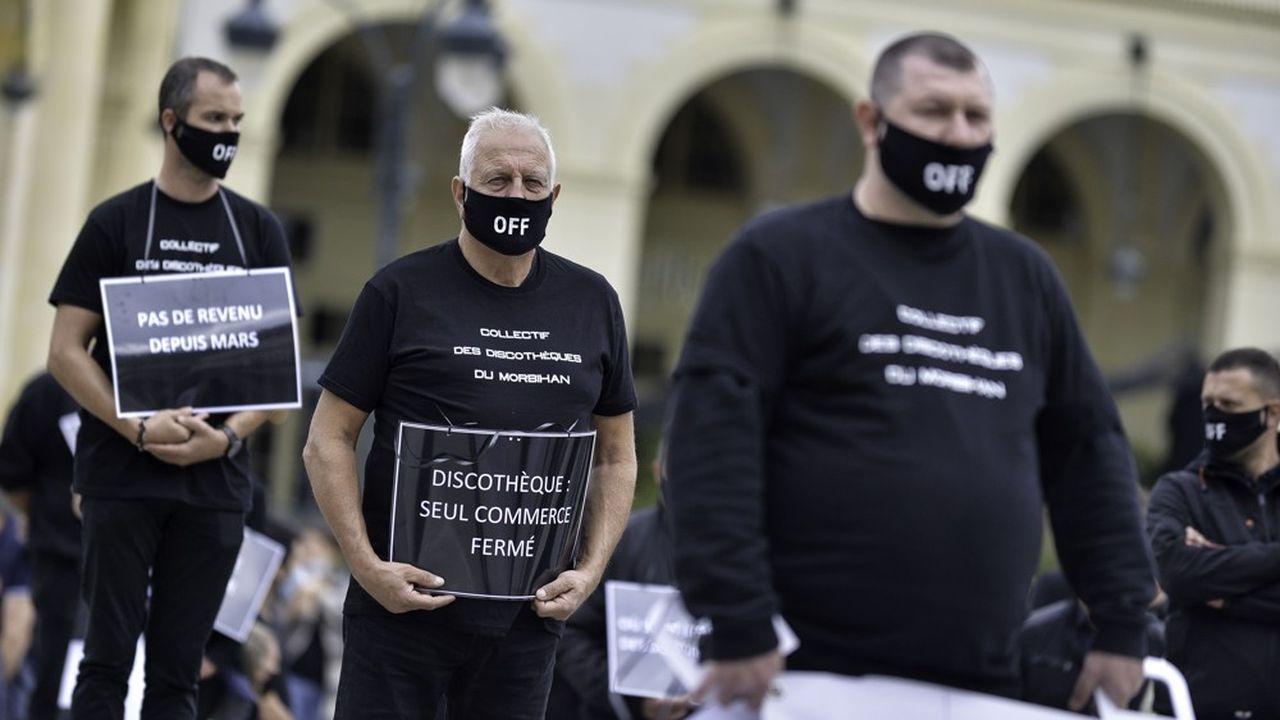 En septembre, les patrons bretons ont organisé une manifestation à Rennes, puis à Paris.