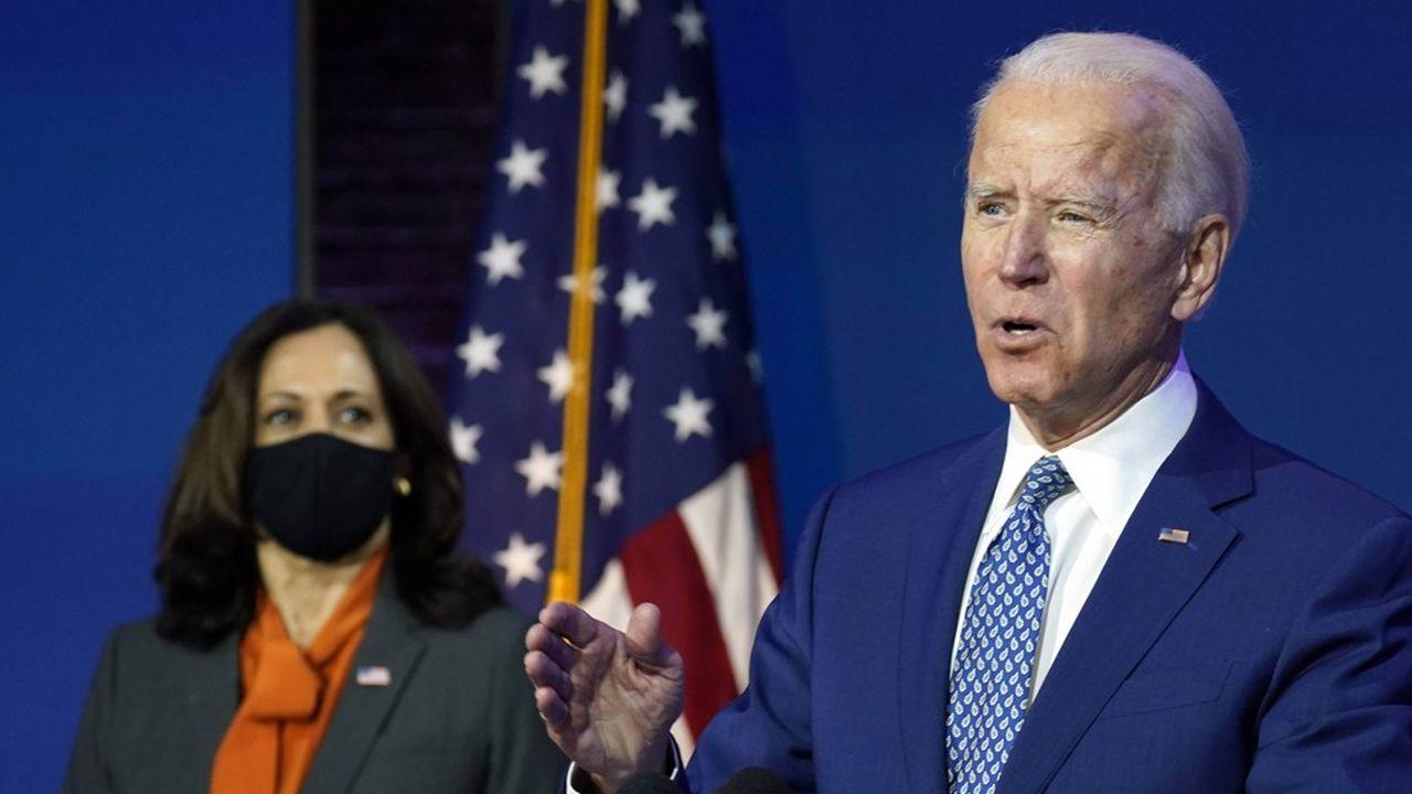 Kamala Harris et Joe Biden devaient annoncer ce lundi leur plan de soutien à l'économie.