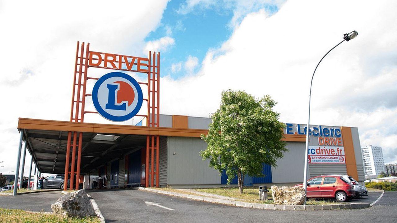 E.Leclerc détient 45% de part de marché du drive en France.