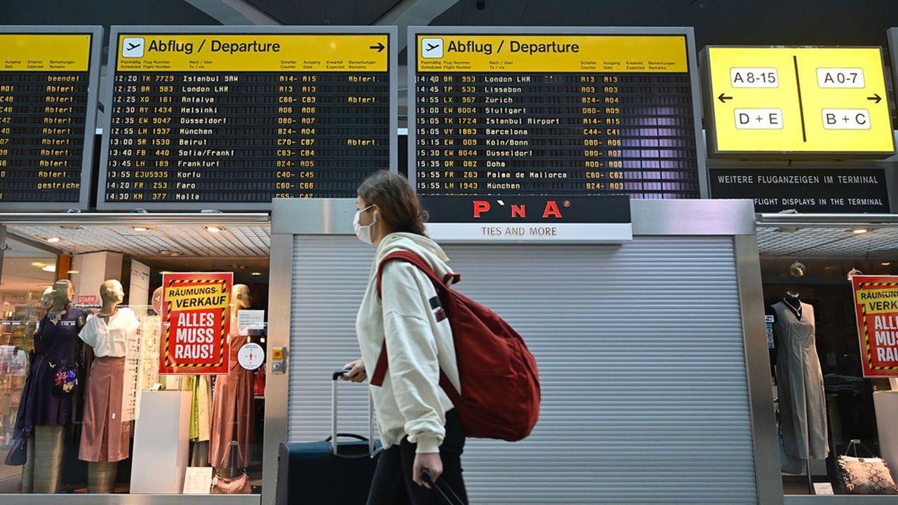 Le trafic des aéroports européens est inférieur de 86% à ce qu'il était l'an dernier à la même époque.