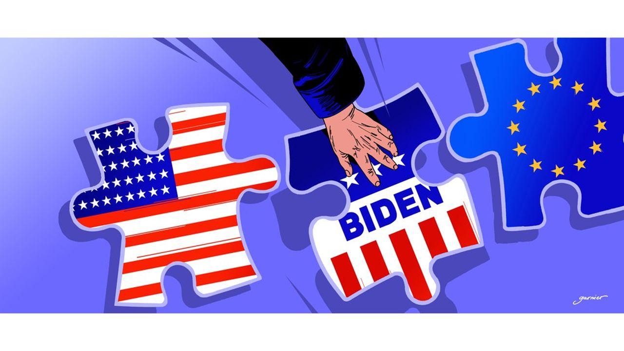 Depuis son arrivée à la Maison-Blanche, Donald Trump a soumis ses alliés européens au feu de ses critiques. Le président élu, Joe Biden, s'est engagé à restaurer le lien transatlantique.