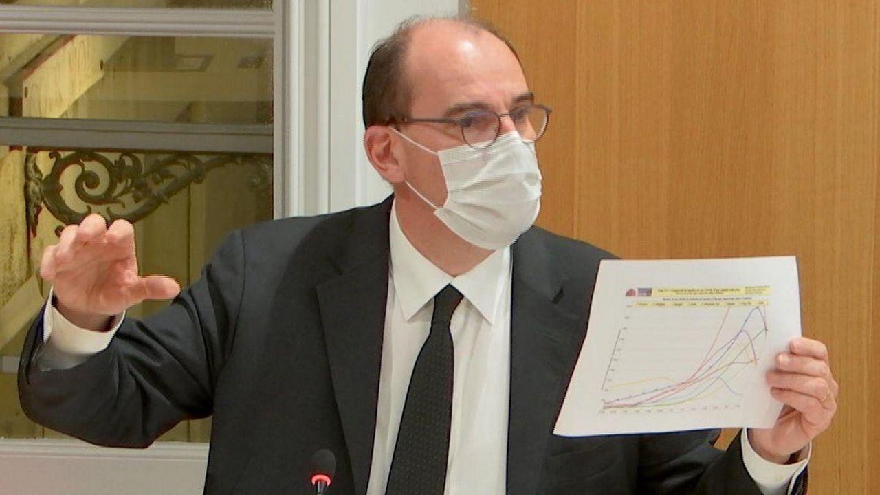 Jean Castex était auditionné ce mardi soir par une commission d'enquête de l'Assemblée nationale sur la gestion de la pandémie.