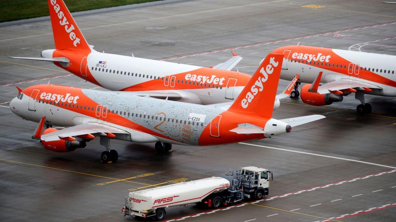La plupart des avions d'easyJet resteront au sol cet hiver.
